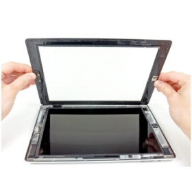 iPad touch glas byte