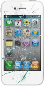 iPhone 4 reparation skärmbyte OEM