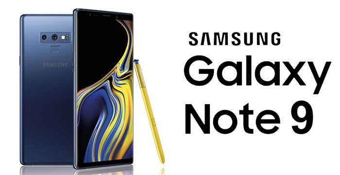 Laga Galaxy note 9 skärm stockholm