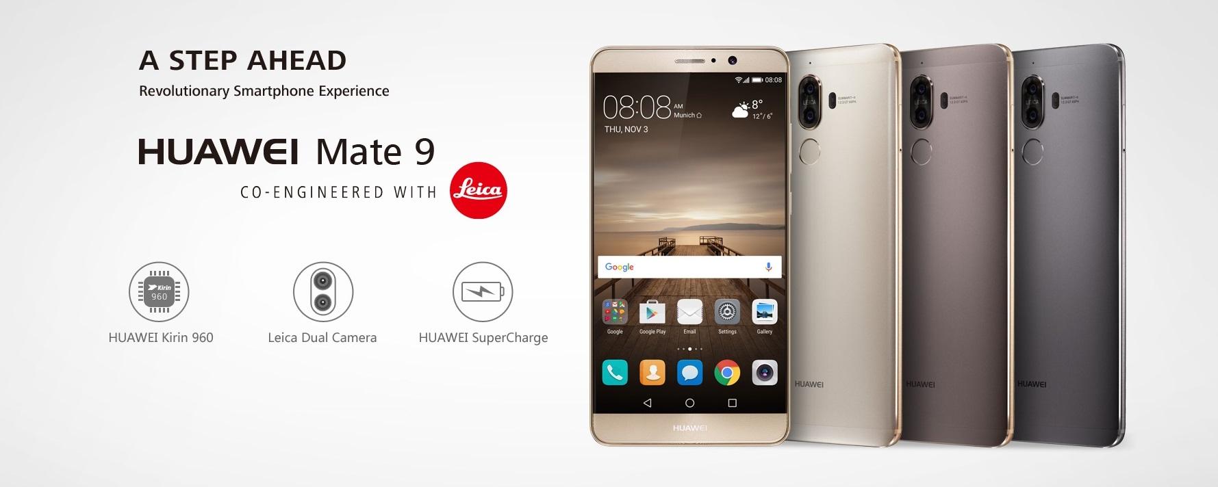 Laga Huawei Mate 9